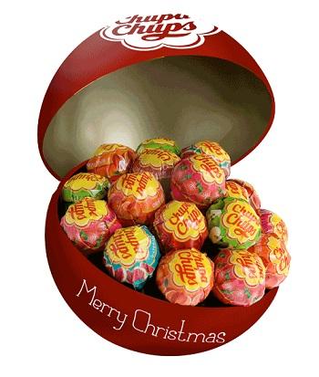 CHUPA CHUPS CHRISTMAS BALL 8PZ
