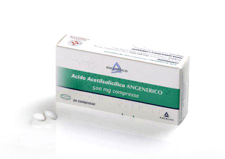 ACIDO ACETILS ANG*20CPR 500MG