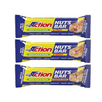 PROACTION NUTS BAR MIELE 30G
