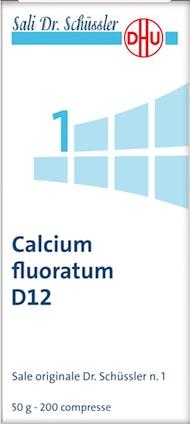 CALCIUM FL 1SCHUSS 12DH 50G