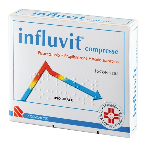 INFLUVIT*16CPR 150+300+150MG